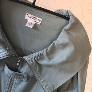Jacket in Medium Boho